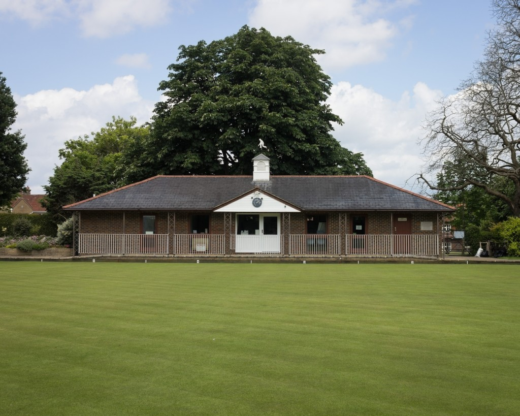 Four bowling clubs10