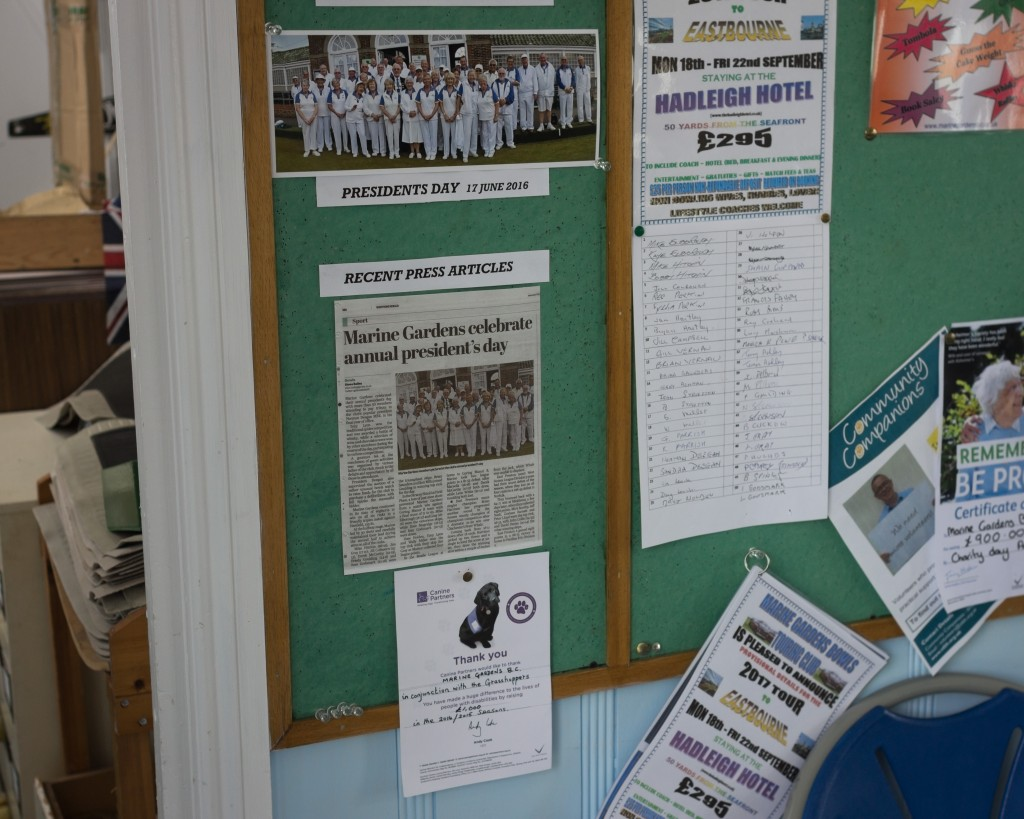 Four bowling clubs13